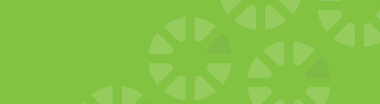 imagen de banner verde