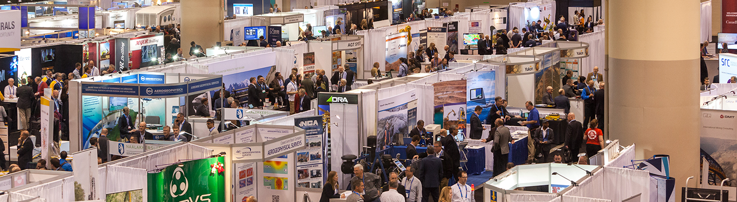 PDAC exhibitor area