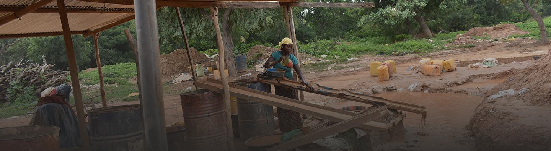 Minero de Burkina Faso
