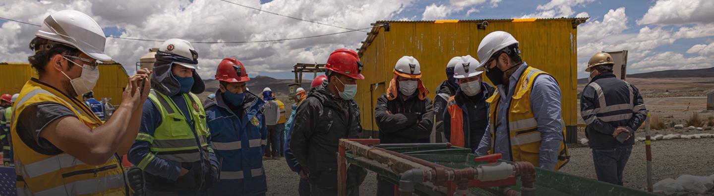 Prueba de tecnología libre de mercurio en Puno, Perú