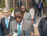 Burkina Faso energy minister project launch