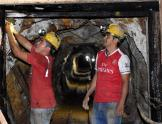 Mineros en Ecuador