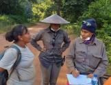 Mujer minera en Guyana