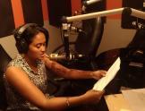 Anuncio de radio de Guyana