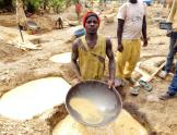Panner de oro Burkina Faso