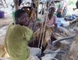 Mineros de la ASGM en Burkina Faso