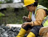 Janchera - mujer minera