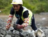 """Mujer minera """"janchera"""""""