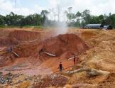 Mine site in Guyana
