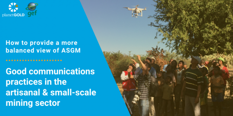 Image introducing Good Comms Practices for ASGM online resource