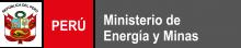 Logotipo de MINEM en Perú