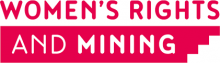 Women's Rights and Mining Logo