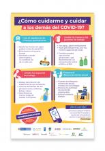 - Afiche ¿Cómo cuidarme y cuidar a los demás del COVID-19?: autocuidado y protección