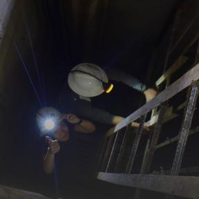 Eje del túnel en Filipinas