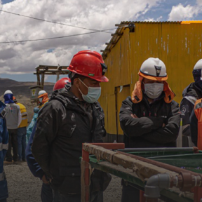 Test of mercury free technology in Puno, Peru