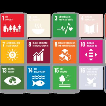 Gráfico de ODS