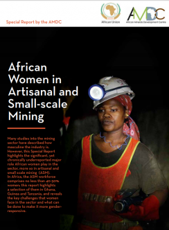 African Women in ASM report cover