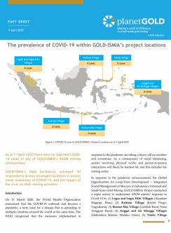planetGOLD Indonesia GOLD ISMIA COVID-19 fact sheet