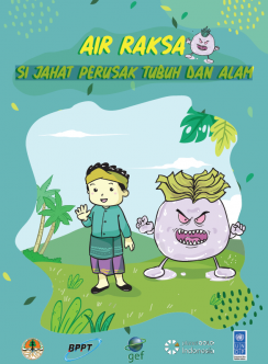 Cover image of Air Raksa comic book
