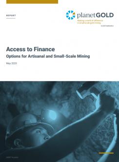 Imagen de portada del informe de acceso a las finanzas