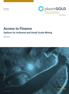 Access to Finance report cover image