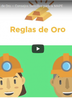 Captura de pantalla del video de Reglas de Oro 1