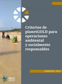 planetGOLD Portada del documento de criterios en español