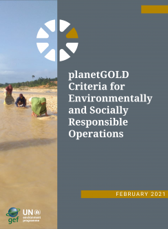planetGOLD Criteria document cover