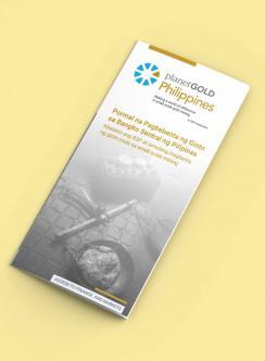 maqueta de planetgold folleto