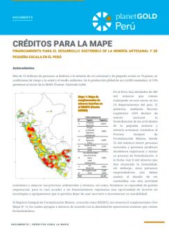 Hoja Informativa 2020 Crédito MAPE Perú