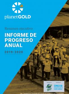 Imagen de portada del Resumen Ejecutivo del Informe Anual 2019 2020 Español