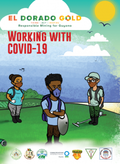 Guyana COVID booklet cover image