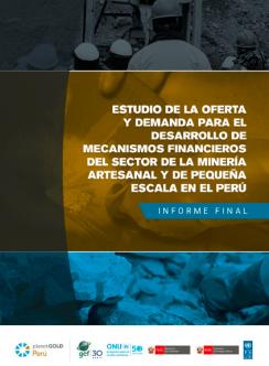 portada estudio oferta y demanda Perú