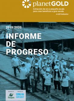 Imagen de portada del Informe de progreso anual 2019 2020 Español
