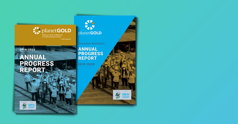 Imagen de presentación de diapositivas del informe pG 2019 2020