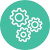 Icono gráfico - tecnología