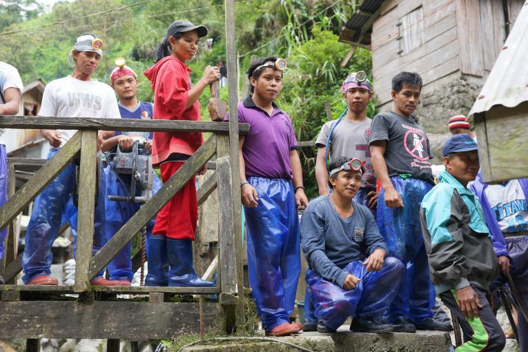 Mineros de Filipinas